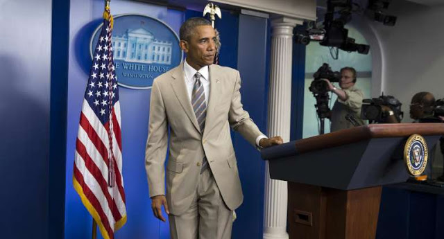 14 Real Obama Scandals That Have Nothing to do with His Wearing a Tan Suit