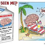 Missing Joe Biden's Brain