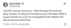 Bette Rebuked: Black Conservatives Pan Diva's Attack on Senator
