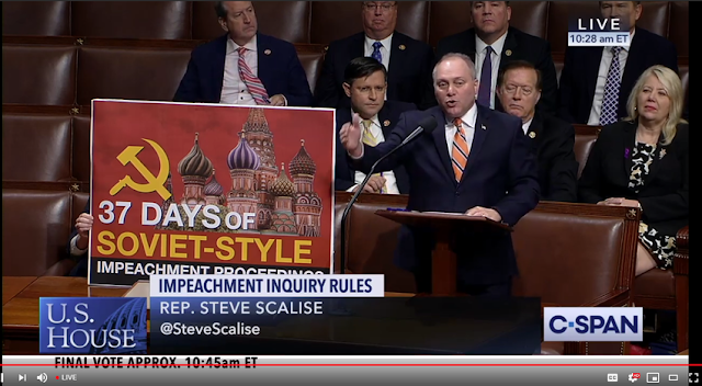 House approves impeachment inquiry rules after fiery floor debate