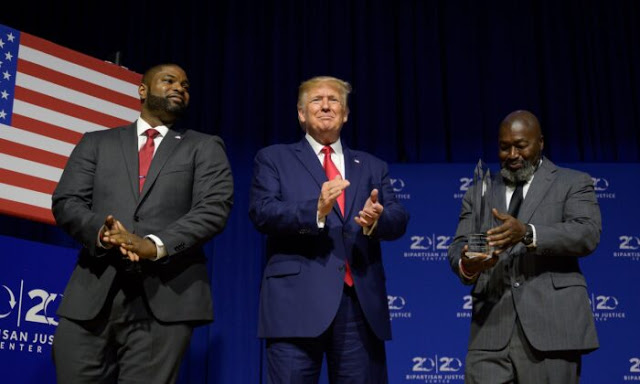 President Donald Trump Awarded Bipartisan Justice Award for First Step Act